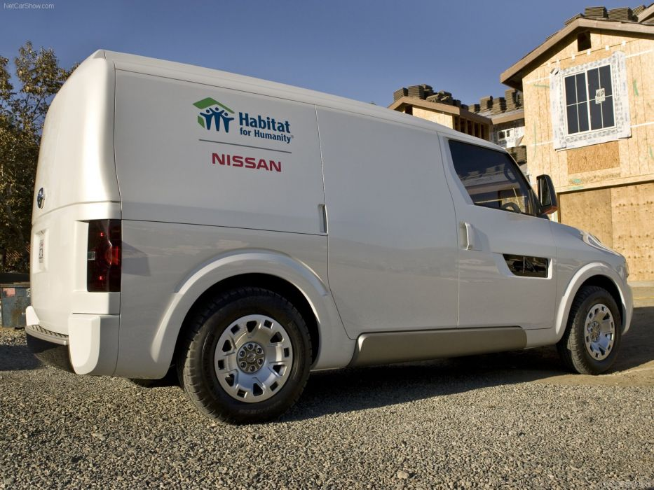 Nissan NV2500 Concept cars van 2008 wallpaper