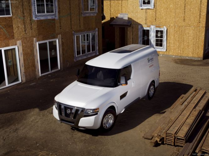Nissan NV2500 Concept cars van 2008 wallpaper