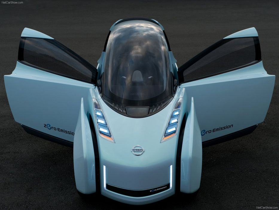 Nissan Land Glider Concept cars 2009 wallpaper