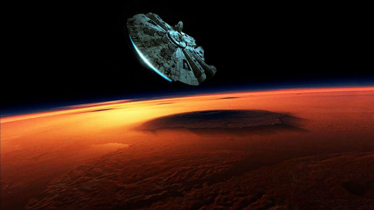 STAR WARS FORCE AWAKENS sci-fi action adventure disney 1star-wars-force-awakens space spaceship wallpaper