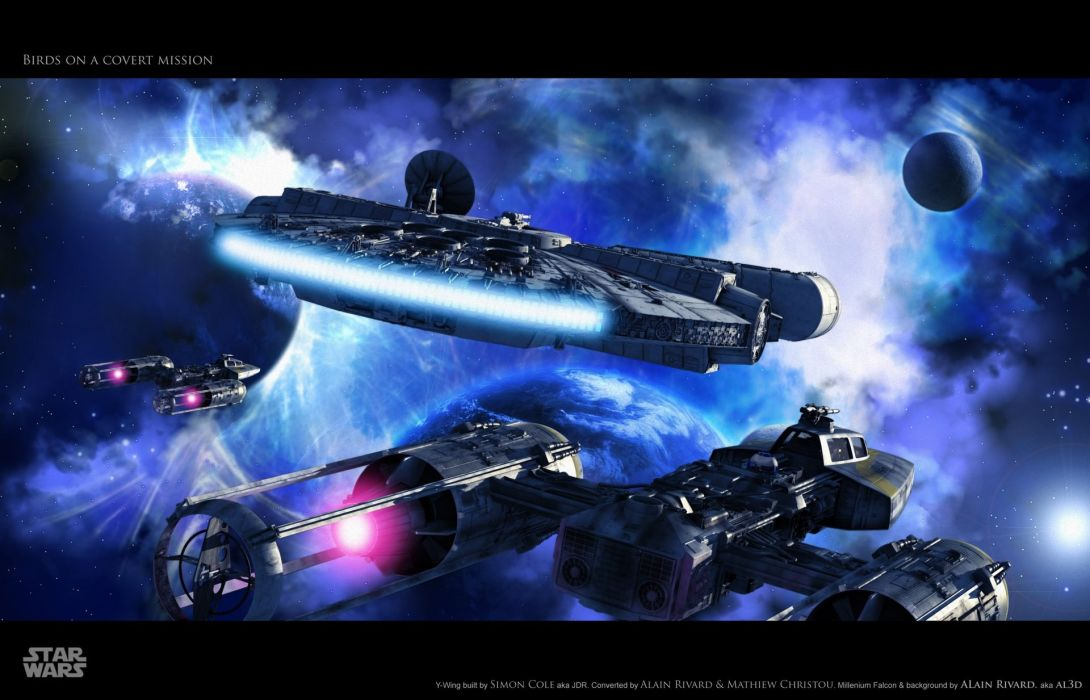 STAR WARS FORCE AWAKENS sci-fi action adventure disney 1star-wars-force-awakens space spaceship wallpaper