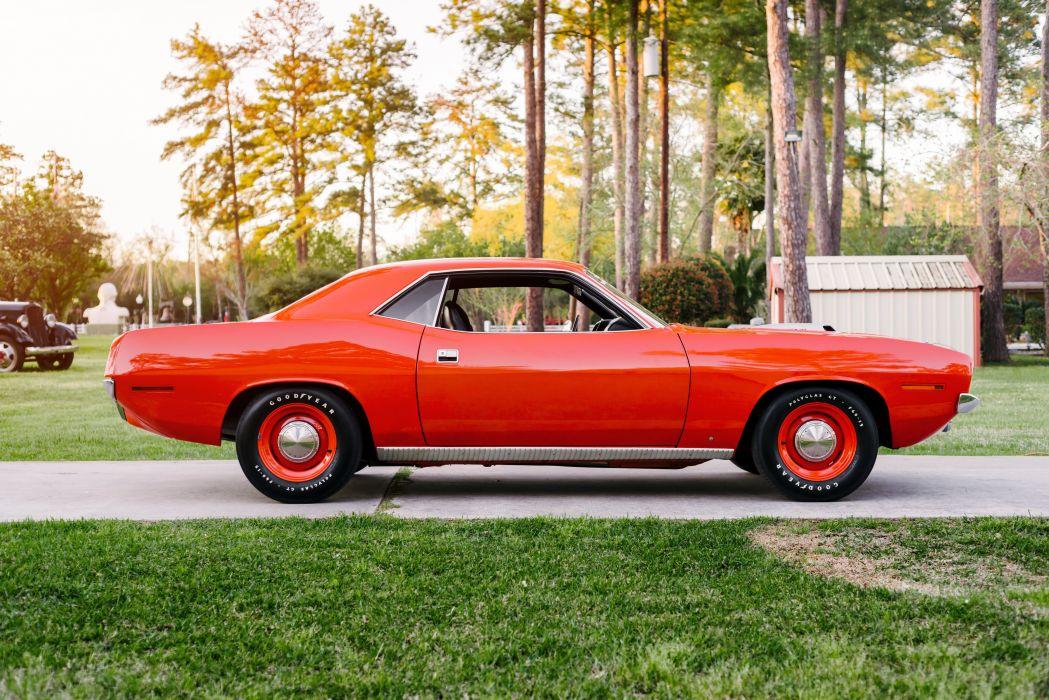 1970 Plymouth Hemi Cuda Muscle Classic Old Retro Red USA 4800x3204-03 wallpaper
