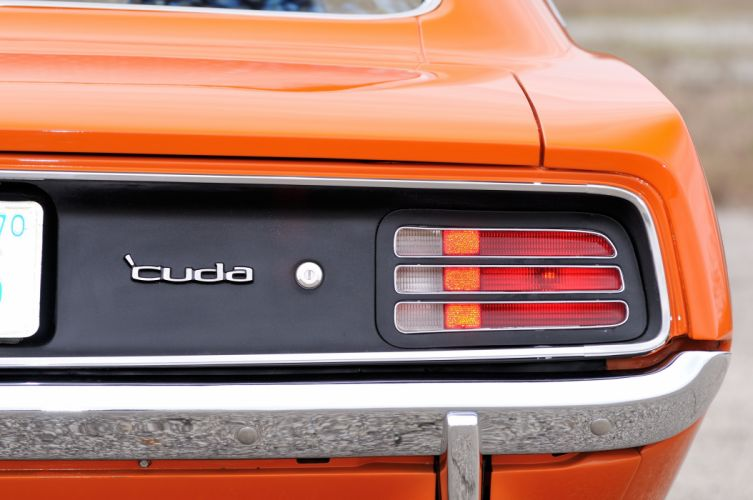 1970 Plymouth Hemi Cuda Orange Muscle Classic USA 4200x2790-08 wallpaper