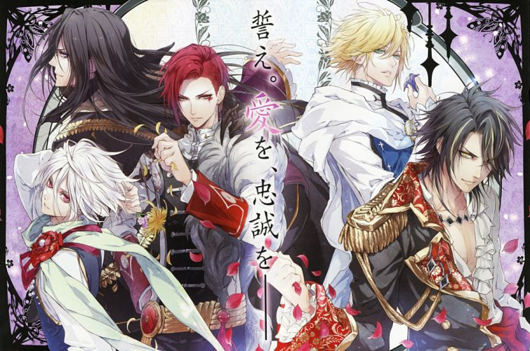 REINE des FLEURS anime gothic romance otome 1reine drama wallpaper