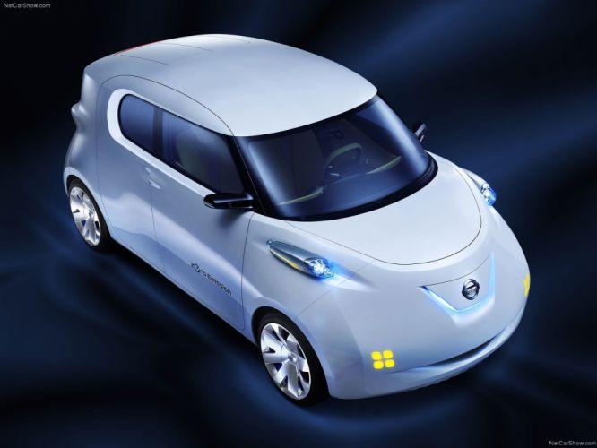 Nissan Townpod Concept cars 2010 wallpaper