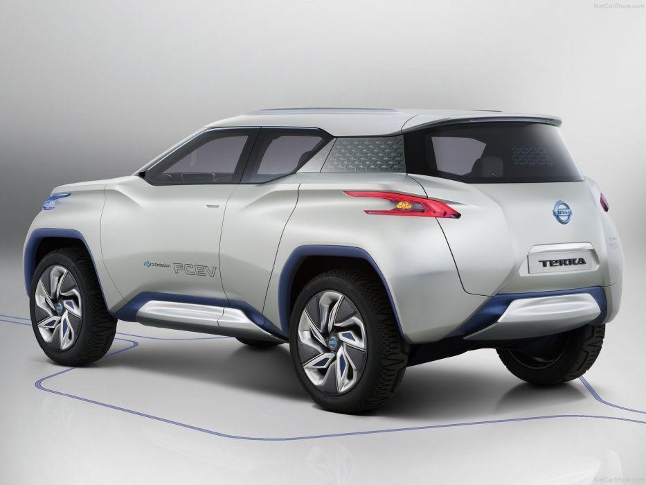Nissan TeRRA Concept cars suv 2012 wallpaper