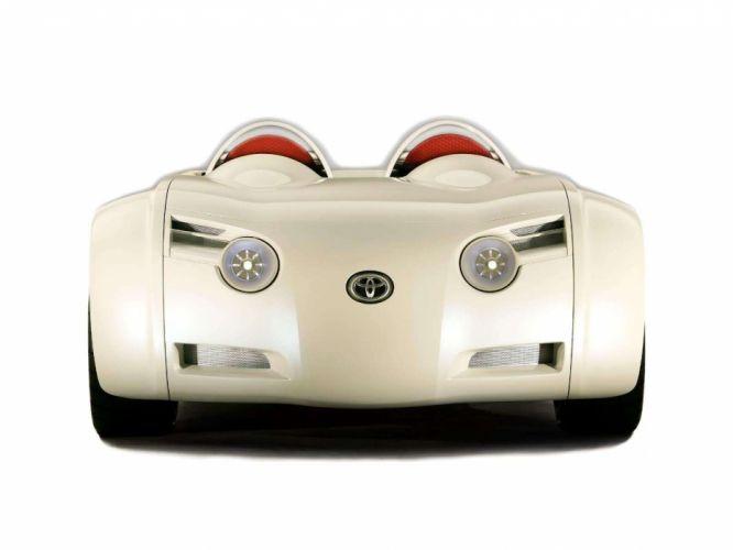 Toyota CSandS Concept cars convertible 2003 wallpaper