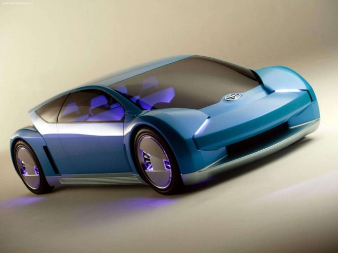 Toyota FINES FuelCell Concept cars 2003 wallpaper