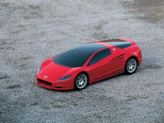 Toyota Alessandro Volta Concept ItalDesign cars 2004 wallpaper