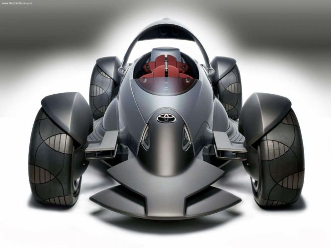 Toyota Motor Triathlon Race Cars Concept 2004 wallpaper