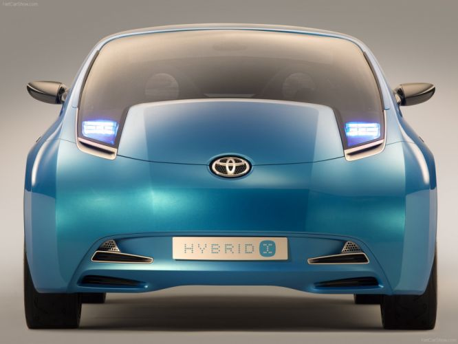 Toyota Hybrid X Concept cars 2007 wallpaper