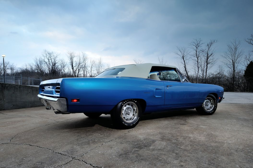 1970 Plymouth Road Runner Convertible Muscle Classic Old USA 4288x2848-03 wallpaper