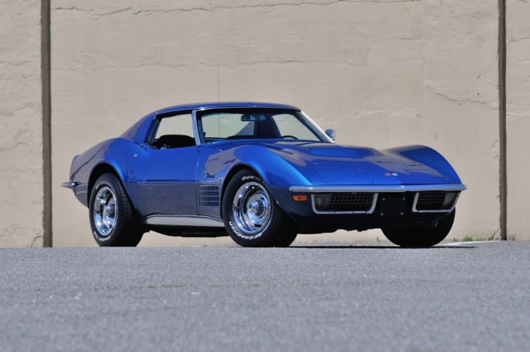 1971 Chevrolet Corvette LS5 AC Coupe Muscle Classic USA 4200x2790-01 wallpaper