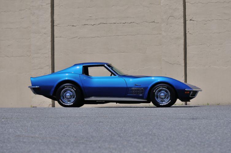 1971 Chevrolet Corvette LS5 AC Coupe Muscle Classic USA 4200x2790-02 wallpaper