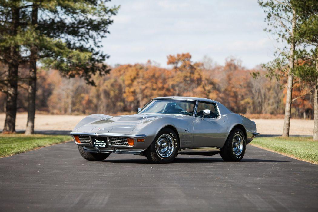 1971 Chevrolet Corvette LS6 Coupe Muscle Classic USA 4200x2800-01 wallpaper