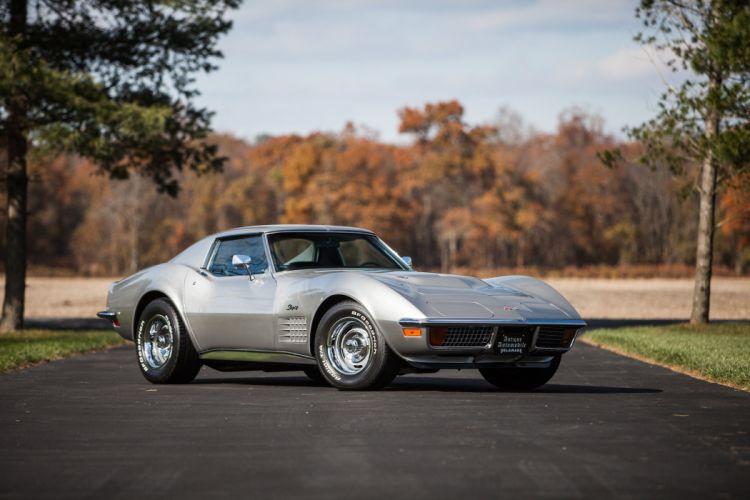 1971 Chevrolet Corvette LS6 Coupe Muscle Classic USA 4200x2800-02 wallpaper