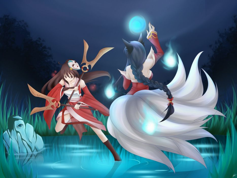 LEAGUE Of LEGENDS lol fantasy action fighting magic adventure mmo rpg online wallpaper