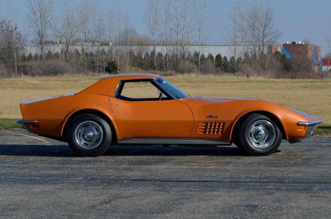 1971 Chevrolet Corvette ZR2 Convertible Muscle Classic USA 4200x2790-09 wallpaper