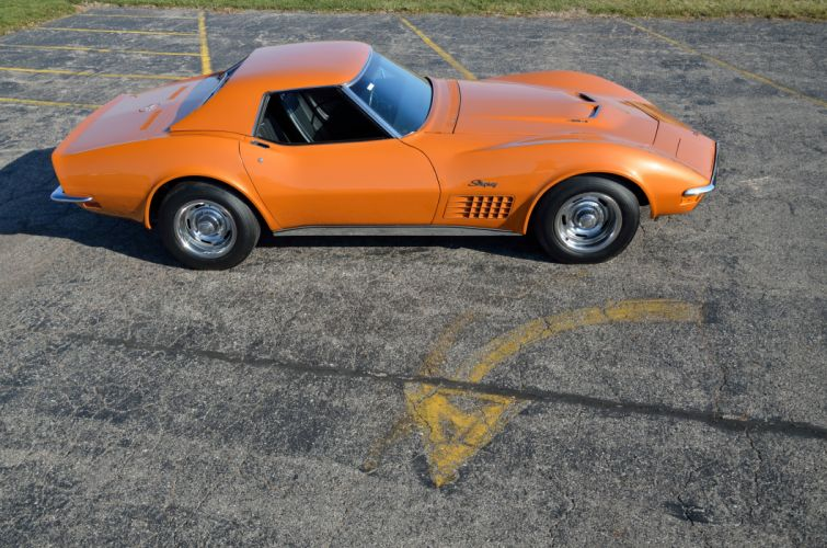 1971 Chevrolet Corvette ZR2 Convertible Muscle Classic USA 4200x2790-10 wallpaper