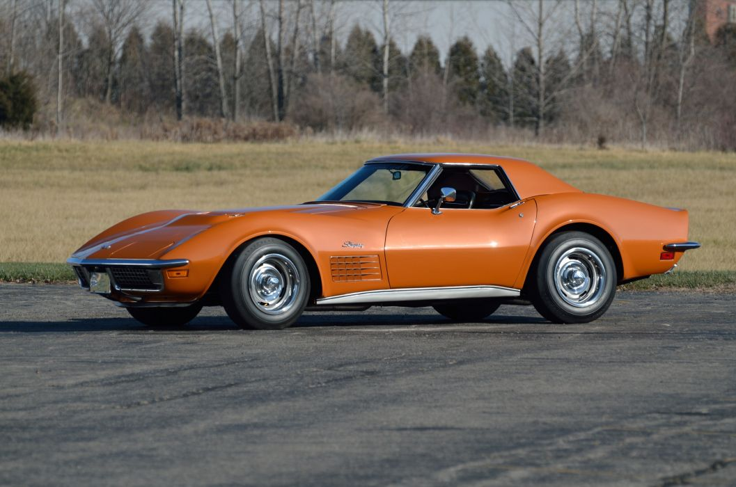 1971 Chevrolet Corvette ZR2 Convertible Muscle Classic USA 4200x2790-14 wallpaper