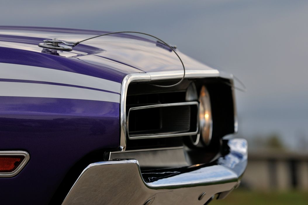 1971 Dodge Challenger RT Convertible Muscle Classic Old USA 4288x2848-06 wallpaper