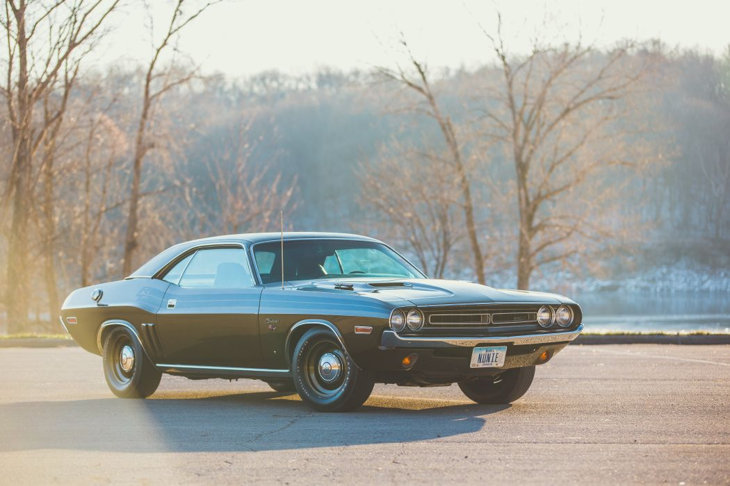 1971 Dodge Hemi Challenger RTMuscle Classic USA 4200x2800-01 wallpaper