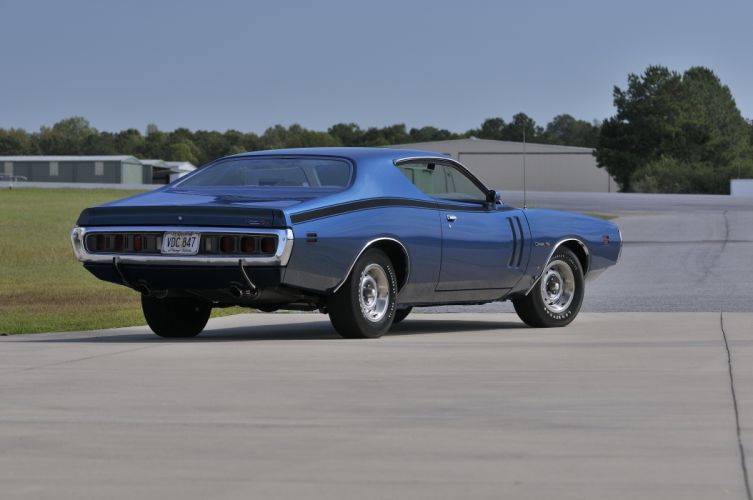 1971 Dodge Hemi Charger RT Muscle Classic Old USA 4288x2848-03 wallpaper