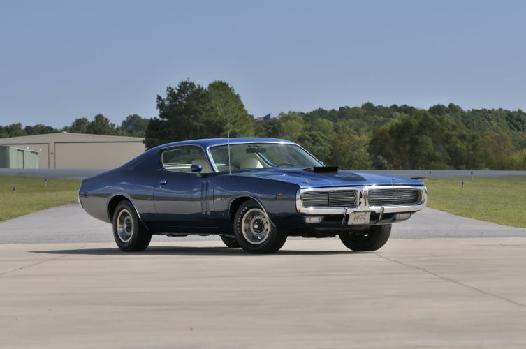 1971 Dodge Hemi Charger RT Muscle Classic Old USA 4288x2848-06 wallpaper