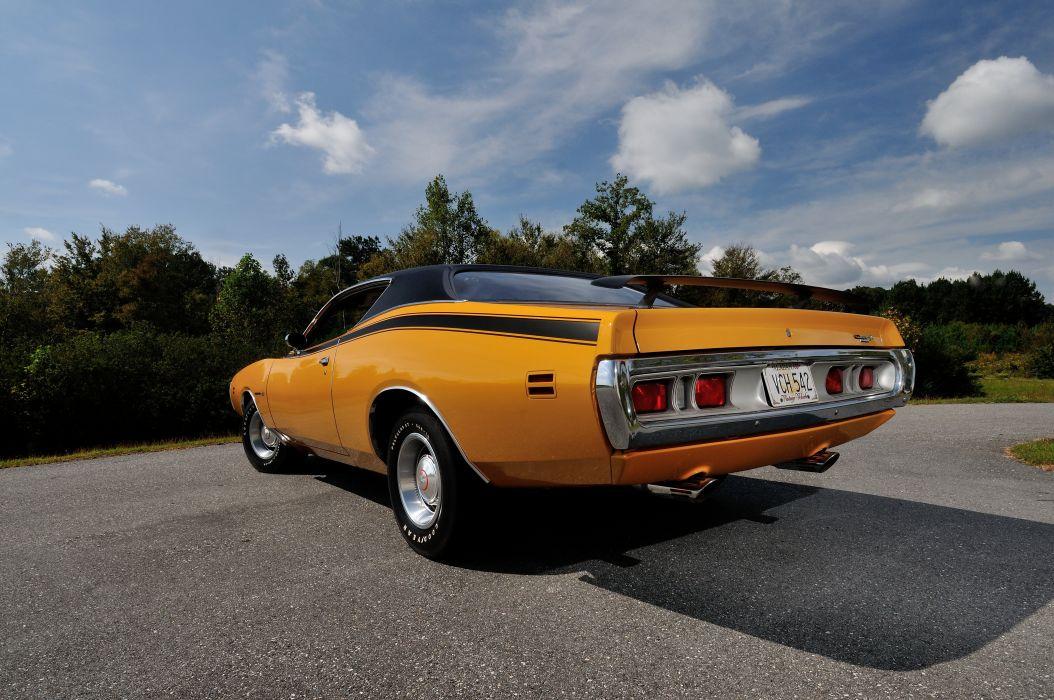 1971 Dodge Hemi Super Bee Muscle Classic Old USA 4288x2848-03 wallpaper
