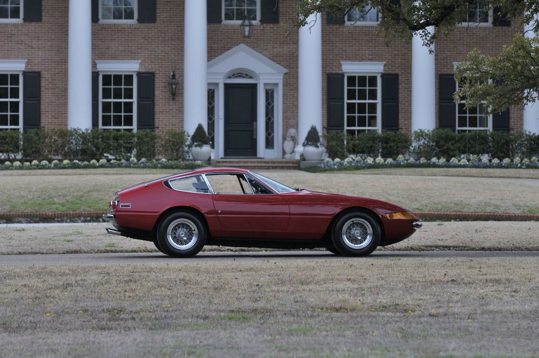 1971 Ferrari 365 GTB4 Daytona Berlinetta Classic Old Rosso Italy 4288x2848-02 wallpaper