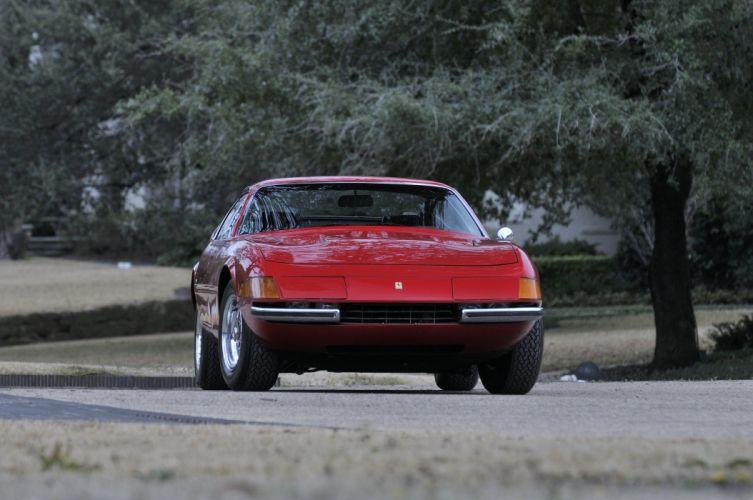 1971 Ferrari 365 GTB4 Daytona Berlinetta Classic Old Rosso Italy 4288x2848-08 wallpaper
