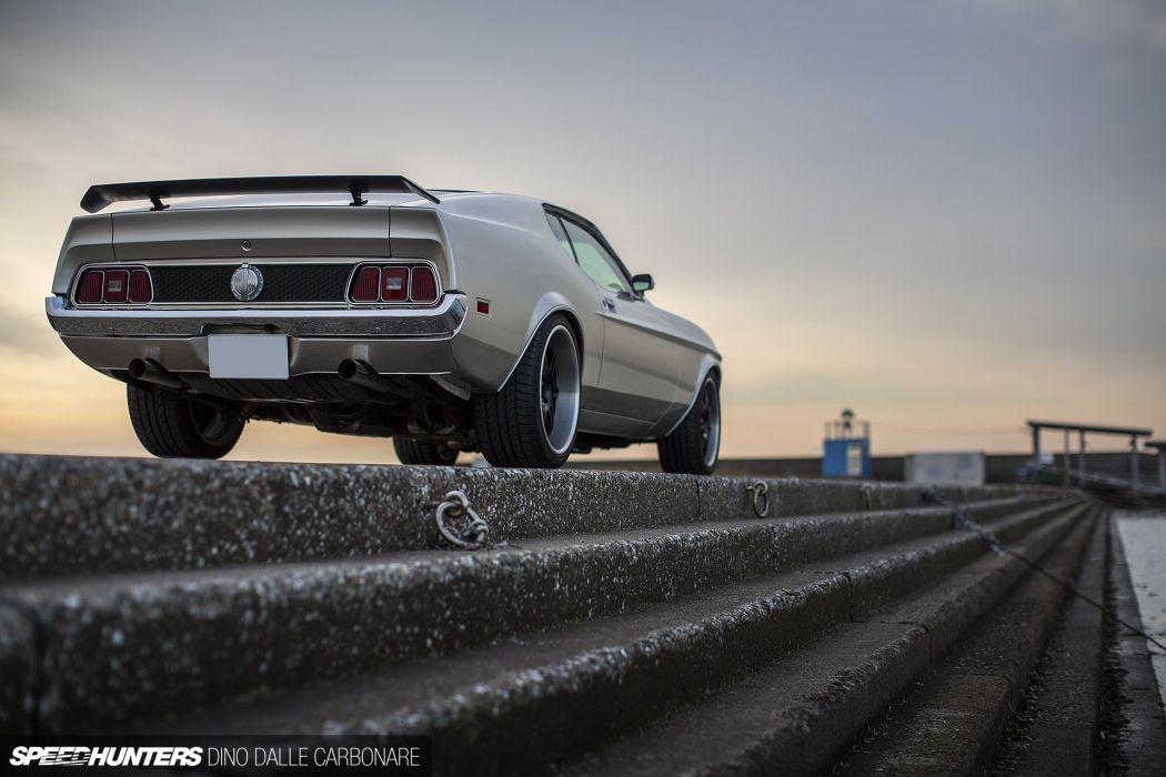 1971 Ford Mustang Mach1 Muscle Streetrod StreetmachineStreet Rod Hot Machine USA 1920x1280-03 wallpaper