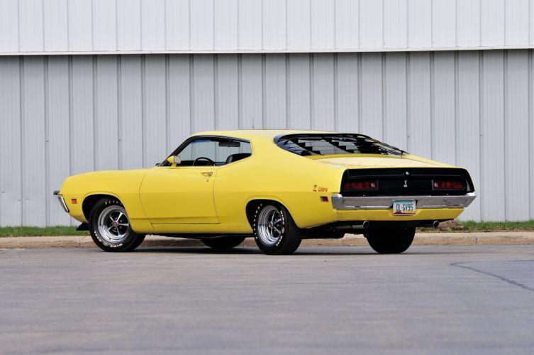 1971 Ford Torino Cobra CJ Muscle Classic Old USA 4200x2790-02 wallpaper