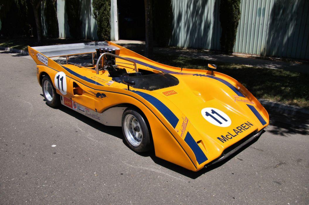 1971 Mclaren M8E Racing Race Can-Am Prototipe Race 4200x2790-01 wallpaper