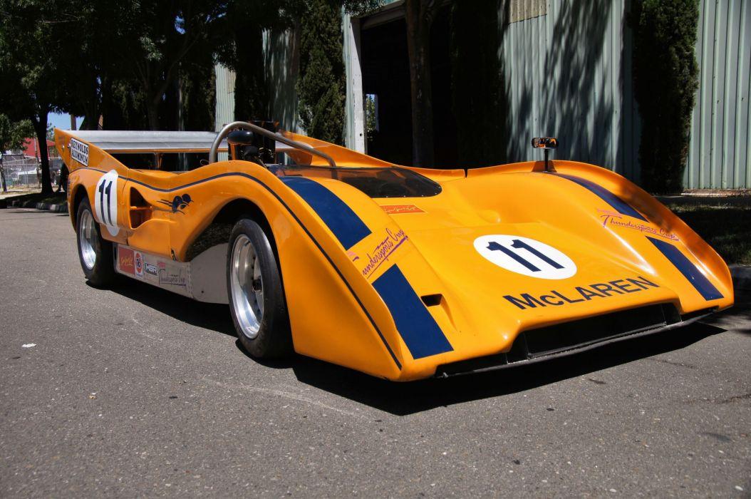 1971 Mclaren M8E Racing Race Can-Am Prototipe Race 4200x2790-03 wallpaper