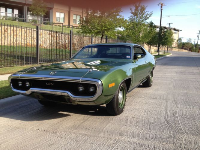 1971 Plymouth GTX 440 Muscle Classic Old USA 3072x2304-06 wallpaper