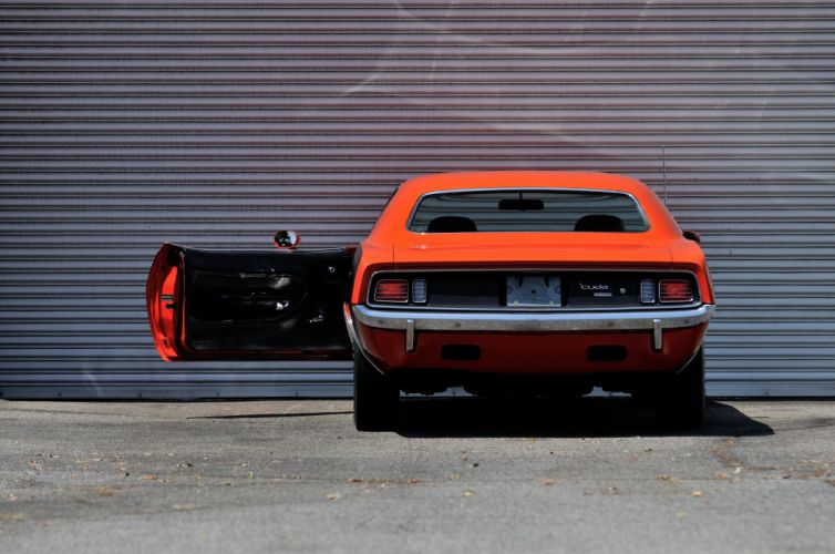 1971 Plymouth Hemi Cuda Muscle Classic Old Red USA 4200x2790-08 wallpaper