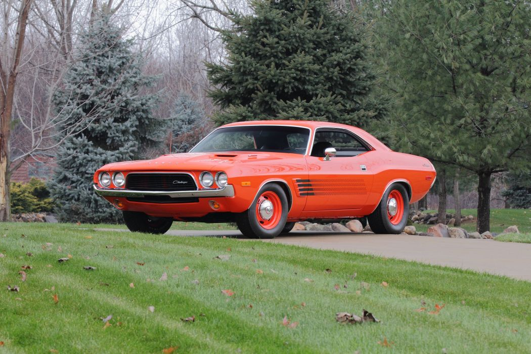 1972 Dodge Challenger Rallye Muscle Classic USA 4200x2800-01 wallpaper