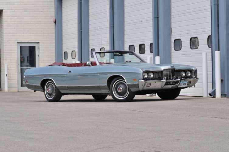 1972 Ford LTD Convertible Classic Old USA 4200x2790-01 wallpaper