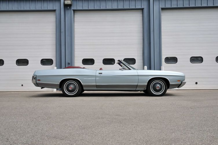 1972 Ford LTD Convertible Classic Old USA 4200x2790-02 wallpaper