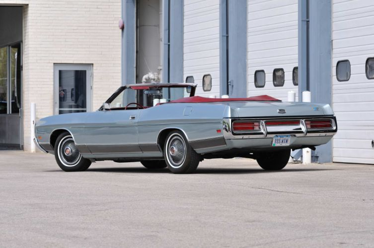 1972 Ford LTD Convertible Classic Old USA 4200x2790-03 wallpaper
