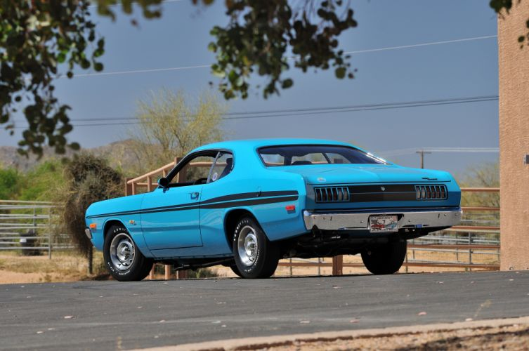 1972 Dodge Demon GSS Muscle Classic Blue Old USA 4200x2790-03 wallpaper