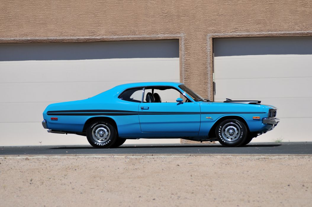 1972 Dodge Demon GSS Muscle Classic Blue Old USA 4200x2790-04 wallpaper