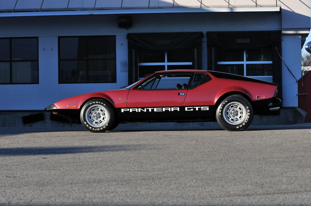 1974 Detomaso Pantera GTS Spor Super Car Italy 4200x2790-02 wallpaper