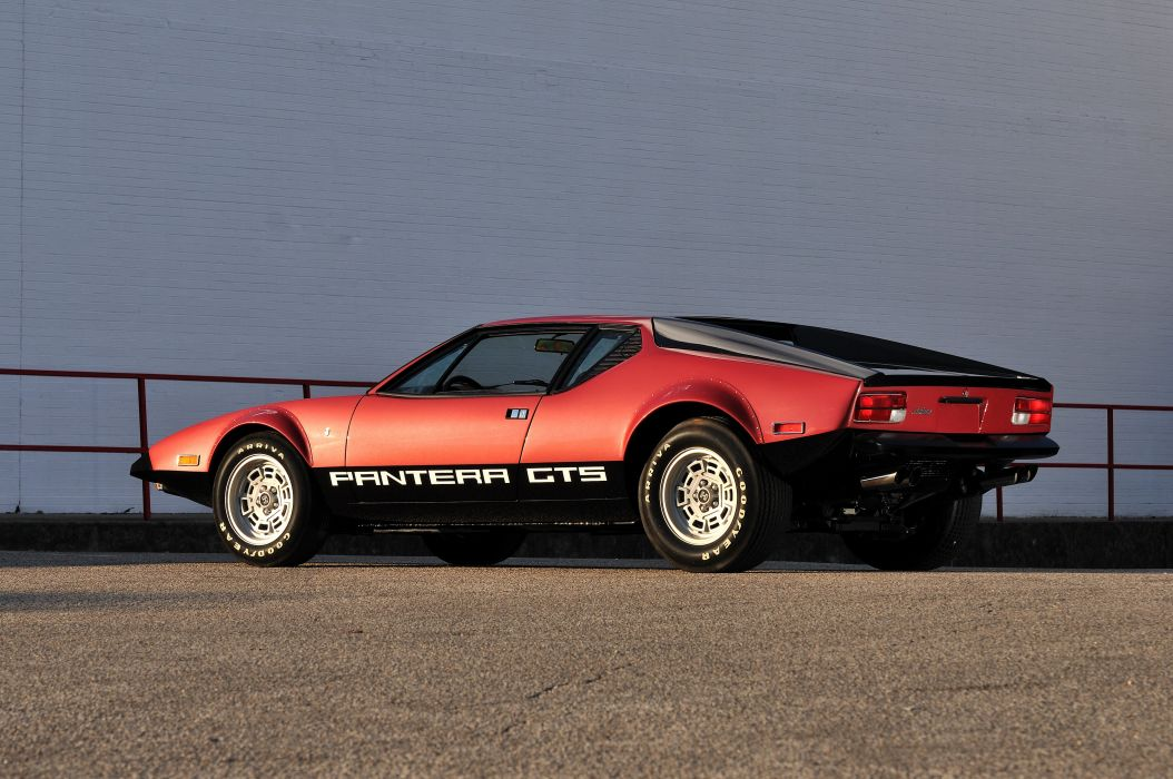 1974 Detomaso Pantera GTS Spor Super Car Italy 4200x2790-04 wallpaper