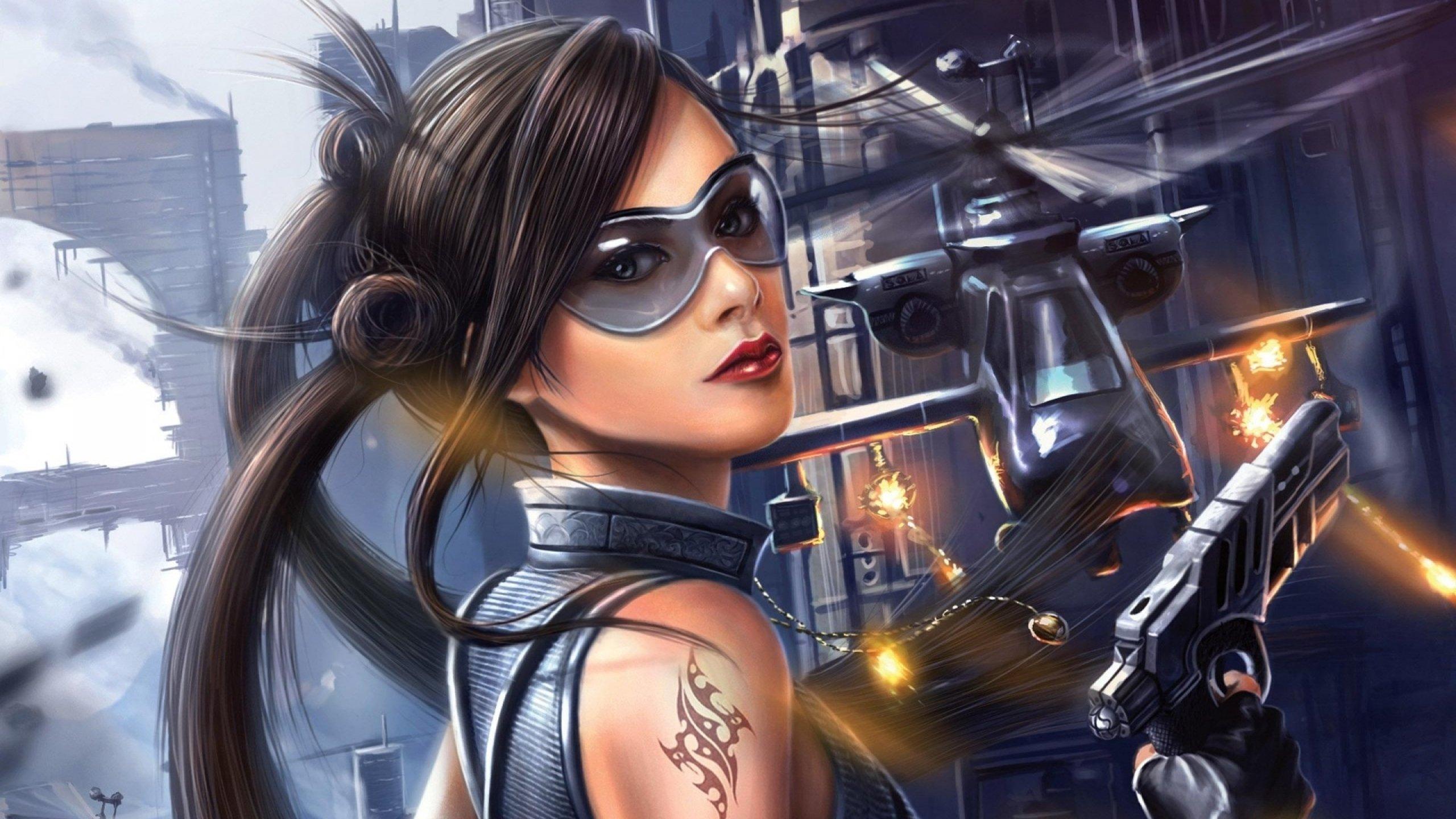 futuristic women females - photo #15
