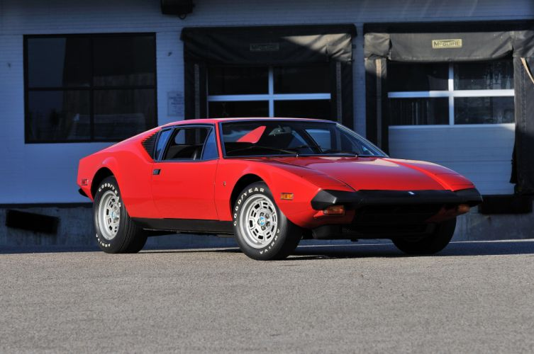 1974 Detomaso Pantera Spor Super Car Italy 4200x2790-01 wallpaper