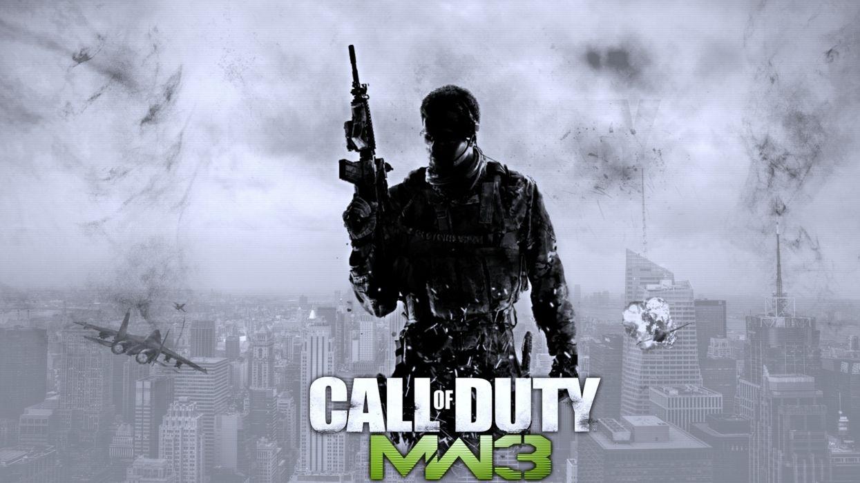 games Soldier fighter war gangs bombing fires joy fun call duty wallpaper