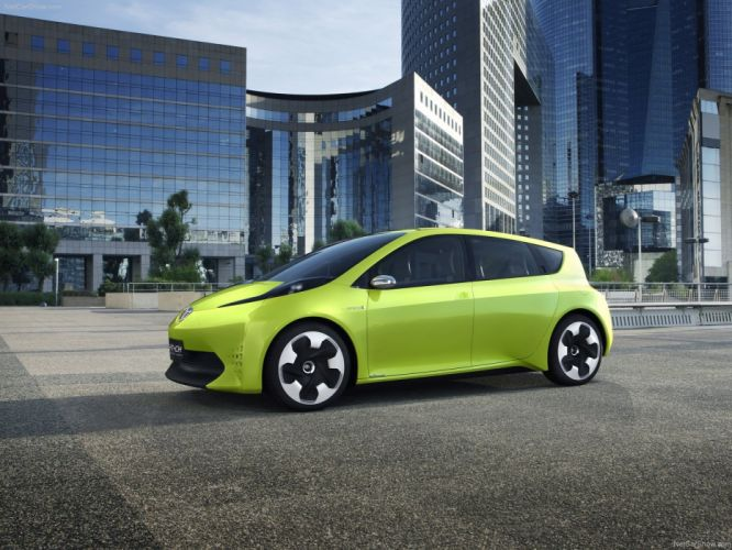Toyota FT-CH Concept cars 2010 wallpaper