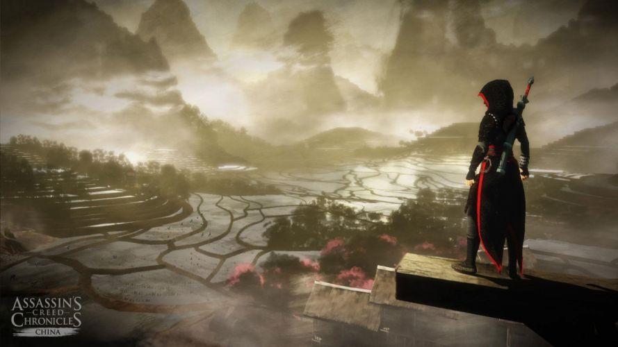 ASSASSINS CREED Chronicles fantasy action adventure fighting assassin warrior martial kung wallpaper